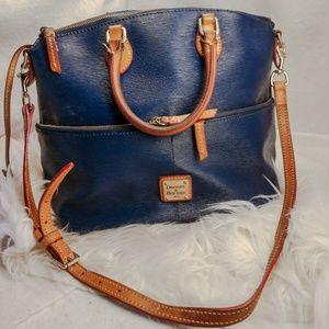 Authentic blue Dooney & Bourke purse handbag